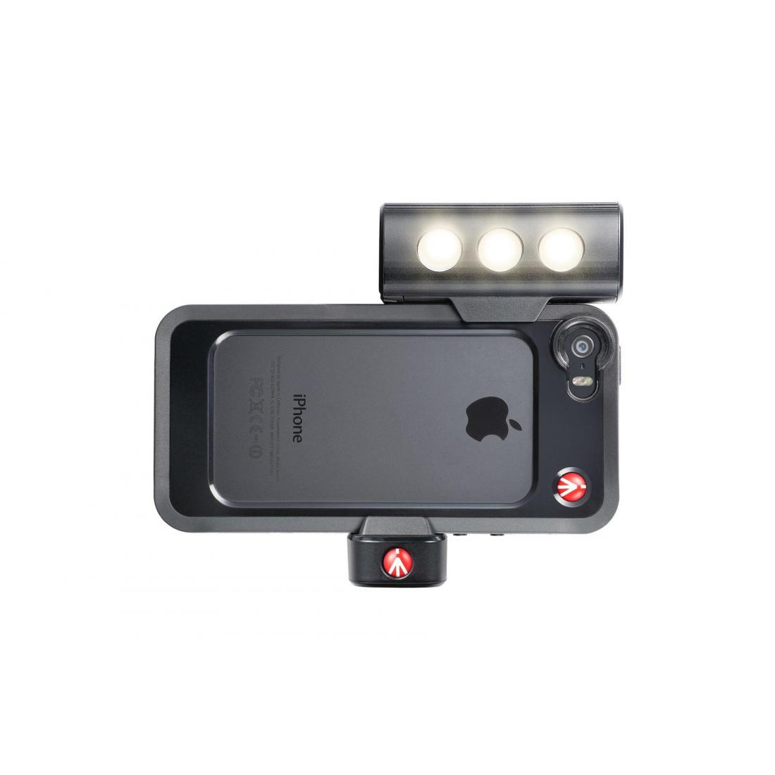 Luce Led Dannosa.Manfrotto Mklklyp5s Kit Per Iphone 5 5s Con Luce Led E